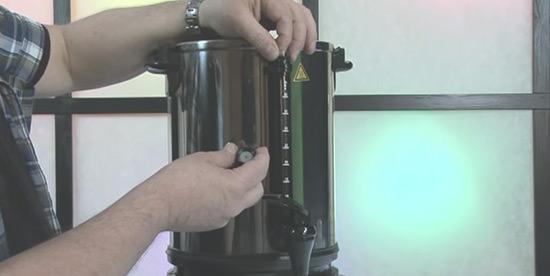 utilisation Regina 90 15 litres de Bartscher